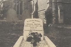 George Snitch Grave Abbotsley