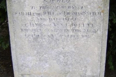 Grave Sarah Snitch Offord Cluny